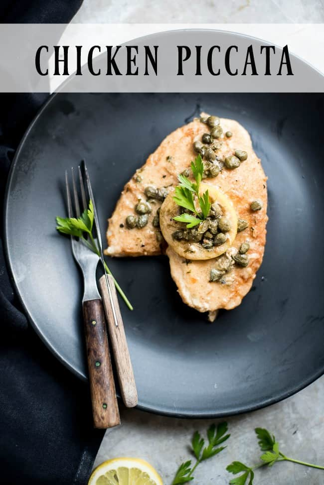 Chicken Piccata. What an amazing and easy chicken dinner. Wow!