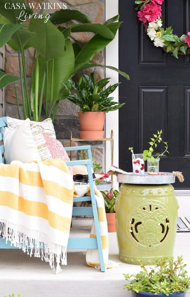 How-to-decorate-a-tropical-global-porch-for-summer