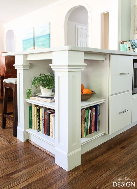 Amazing Built-in shelves that you can do yourself!