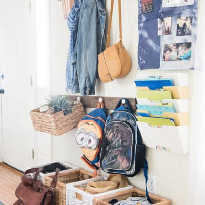 5 BACK TO SCHOOL ORGANIZING IDEAS