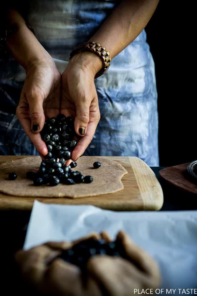 Blueberry Tart Recipe (1 of 7)
