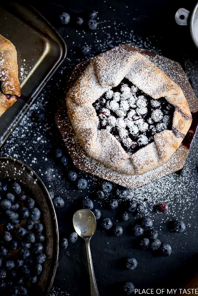 Blueberry Tart Recipe (6 of 7)