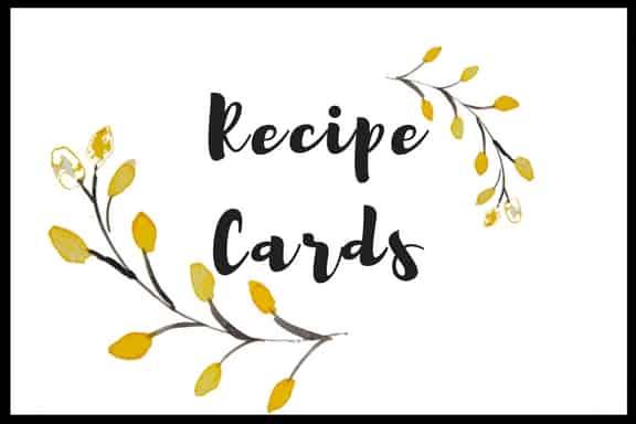 Main page-recipe