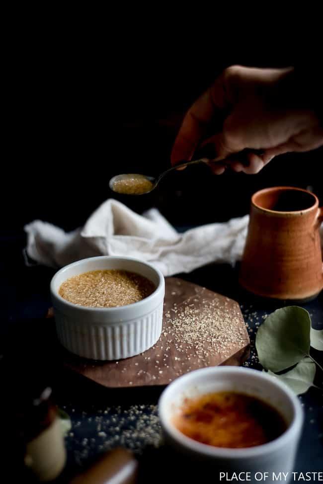 Salted Caramel Creme brulee