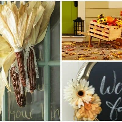 7 BEAUTIFUL FALL WREATHS