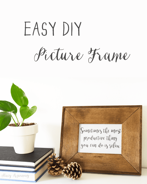easy-diy-picture-frame