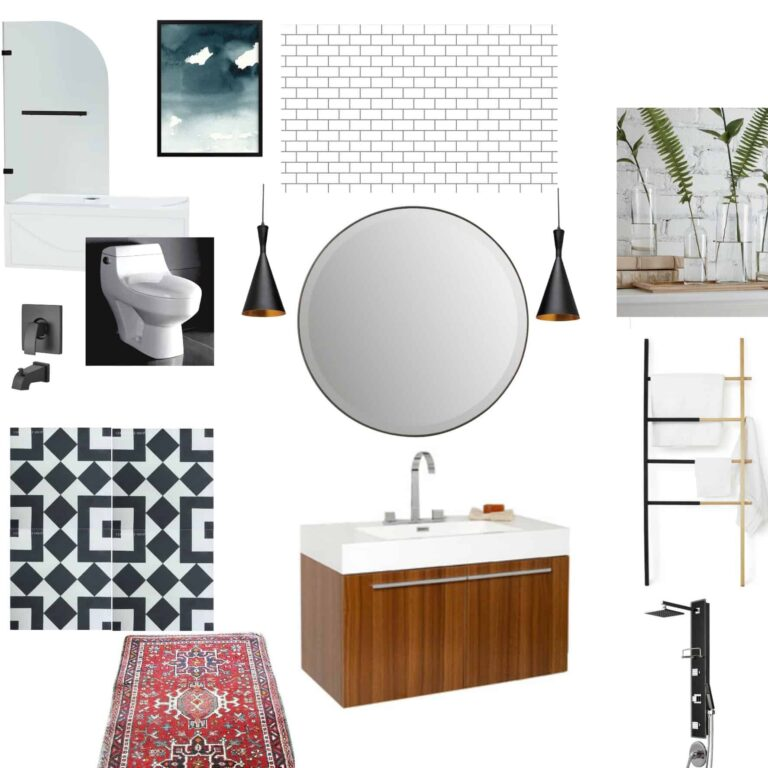 THE PLANS {ONE ROOM CHALLENGE-WEEK 2}