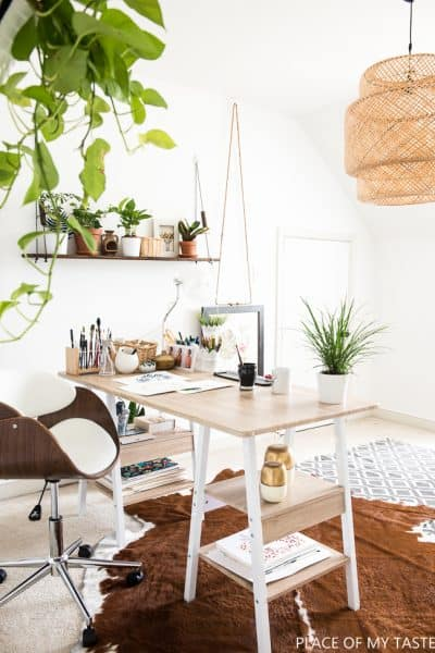 WORKSPACE REFRESH and HOW TO BUILD A SHELF