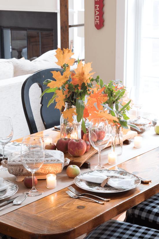 beautiful thanksgiving table setting ideas  work it