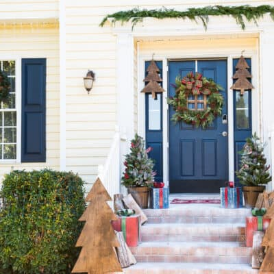 DIY CHRISTMAS DECORATIONS   THE HOME DEPOT HOLIDAY STYLE CHALLENGE