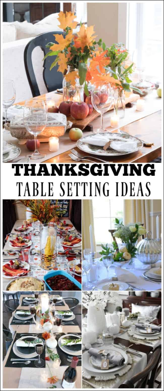 Beautiful Thanksgiving Table Setting Ideas Work It