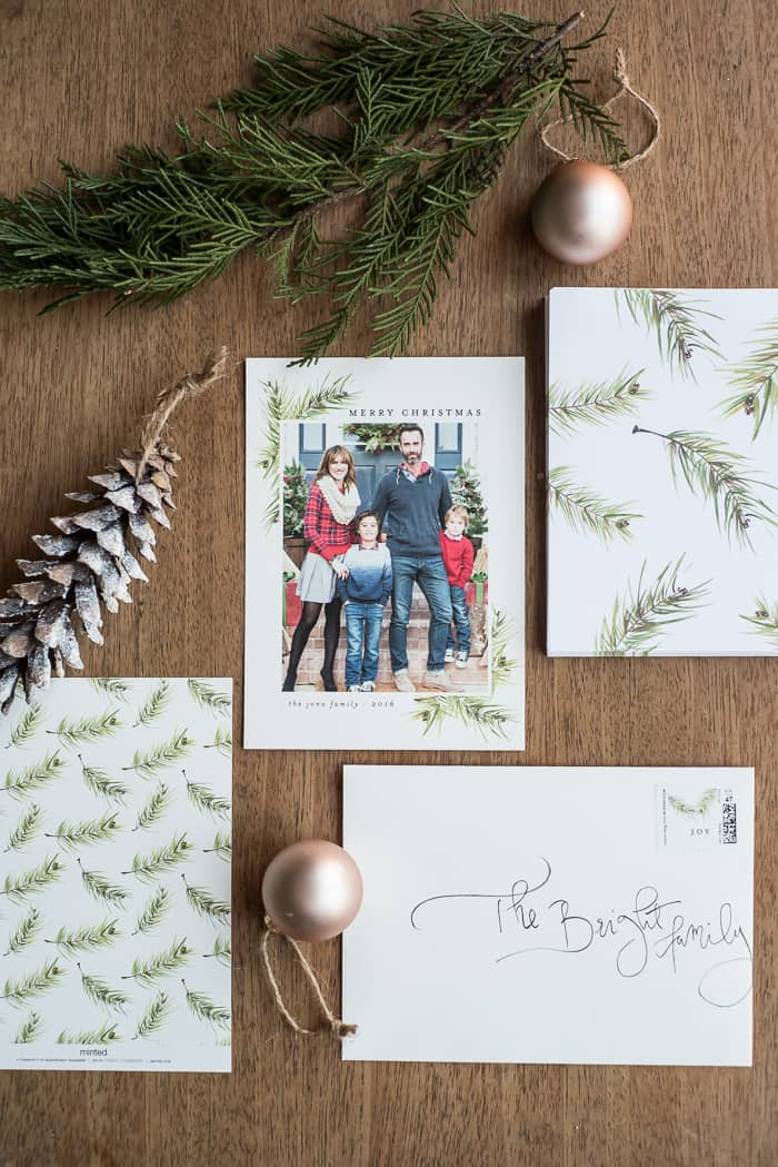 Minted Christmas Cards.Minted Christmas Cards And Giveaway Place Of My Taste