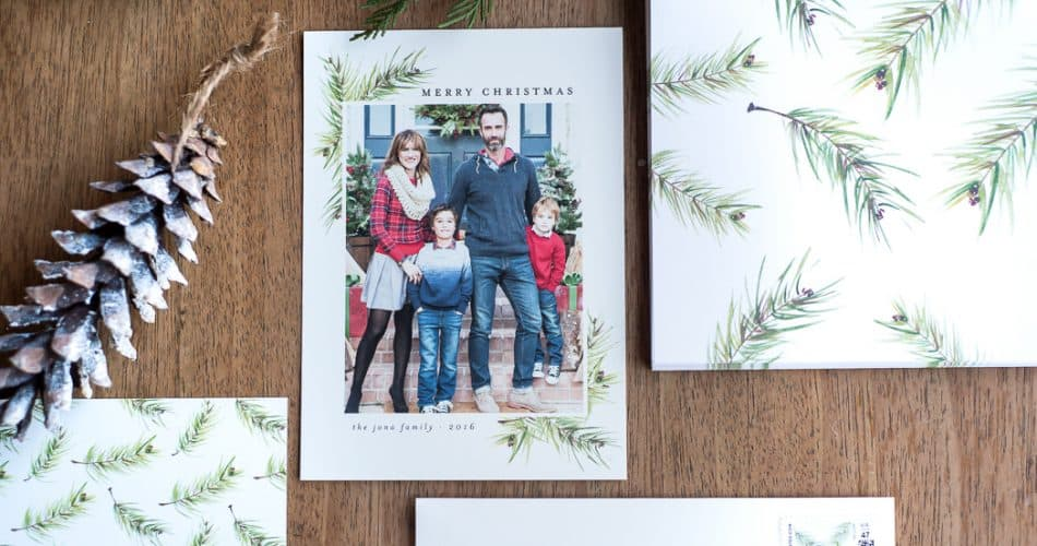 MINTED CHRISTMAS CARDS AND GIVEAWAY