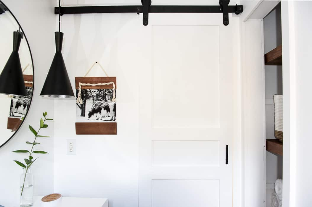 Learn How To Make This Modern Diy Sliding Barn Door It S Easy And Adding A