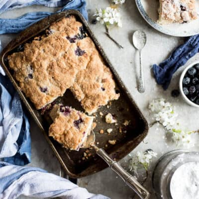 DELICIOUS BLUEBERRY BUCKLE RECIPE