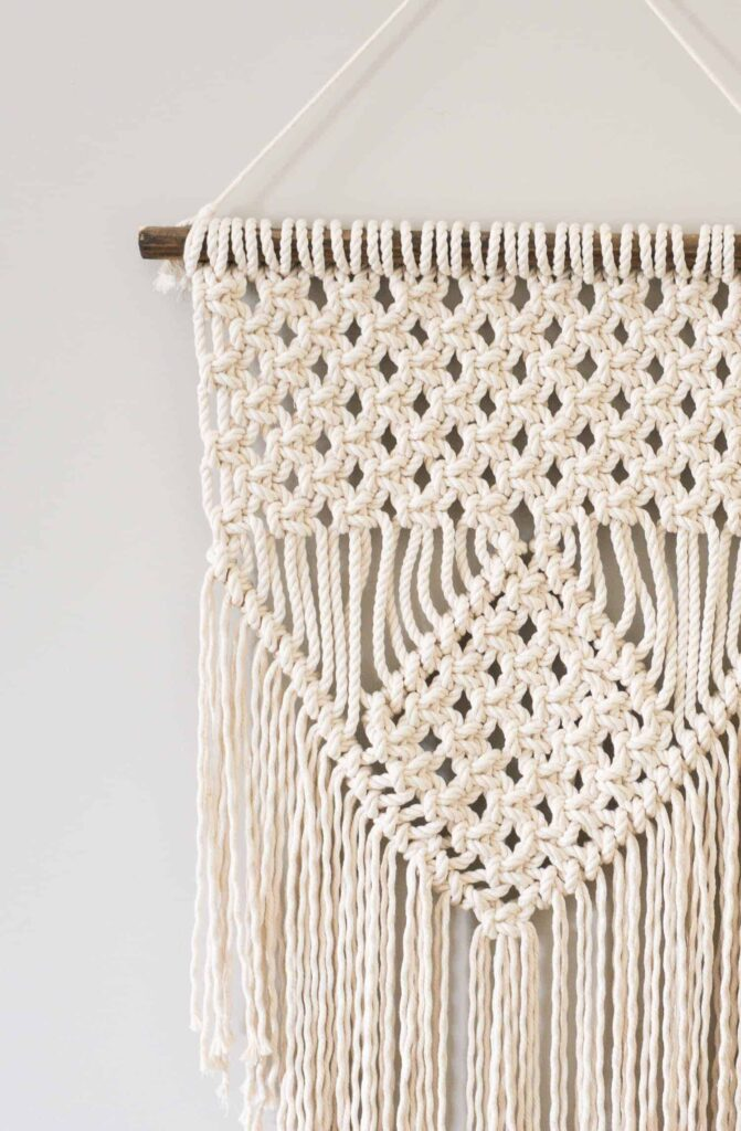 macrame stitches learn three basic macrame knots to create your wall hanging 7385