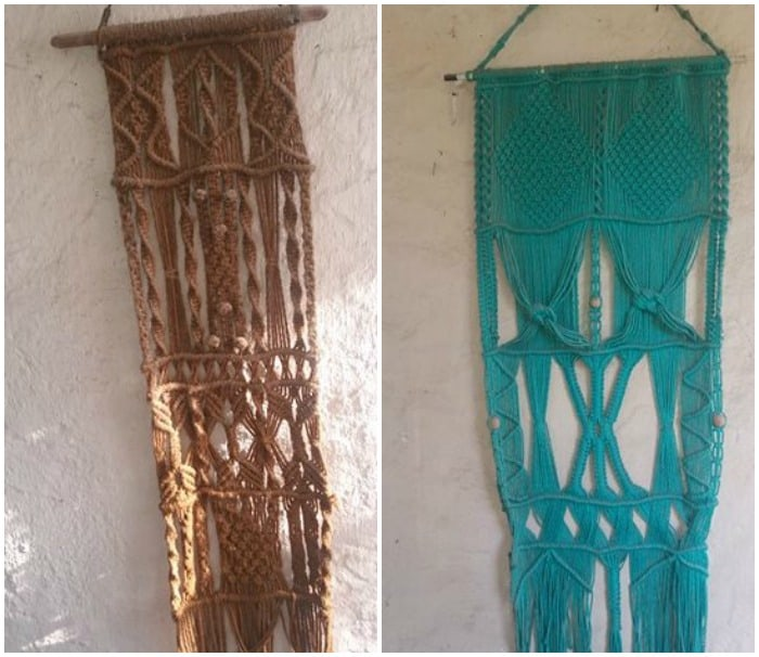LEARN THREE BASIC MACRAME KNOTS TO CREATE YOUR WALL HANGING #macrame #macrameknots #wallart #wallmacrame #plantholder #basicknots #wallhangings #stringcraft