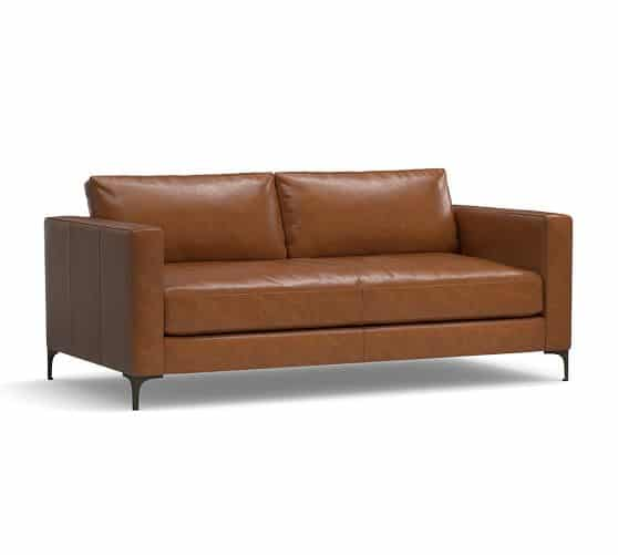 L · Tan leather sofas are so much in style these days.My Hamilton leather  sofa is - TAN LEATHER SOFAS, I Love All These Fun And Modern Leather Sofas