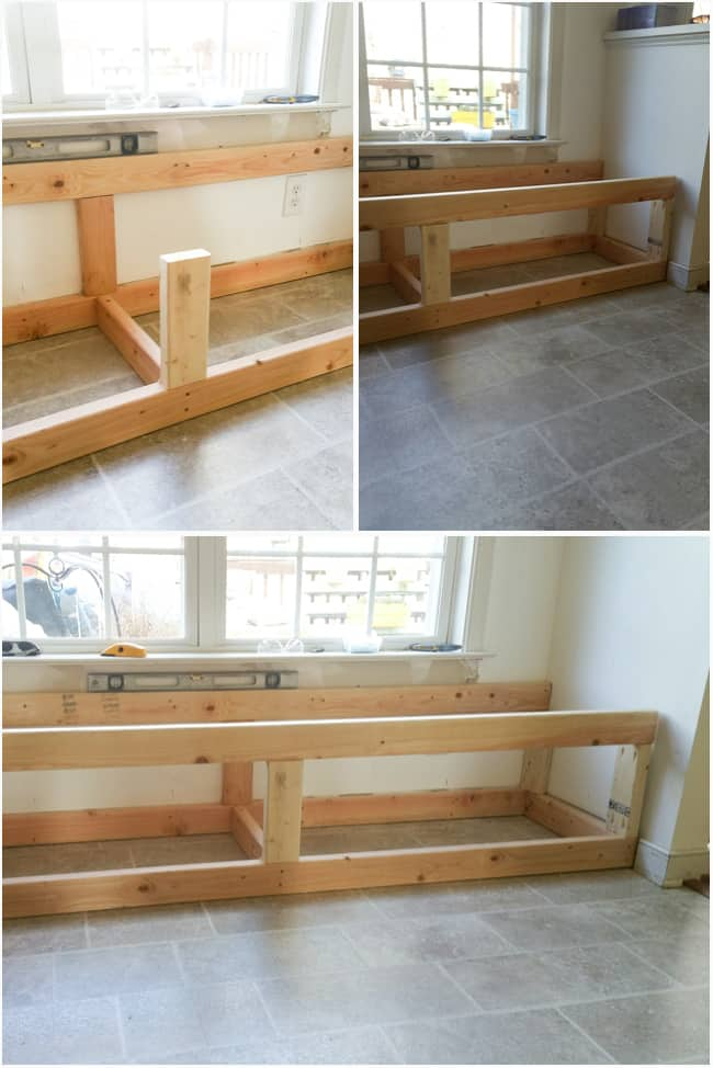 Enjoyable Diy Built In Storage Bench Tutorial One Room Challenge Gmtry Best Dining Table And Chair Ideas Images Gmtryco