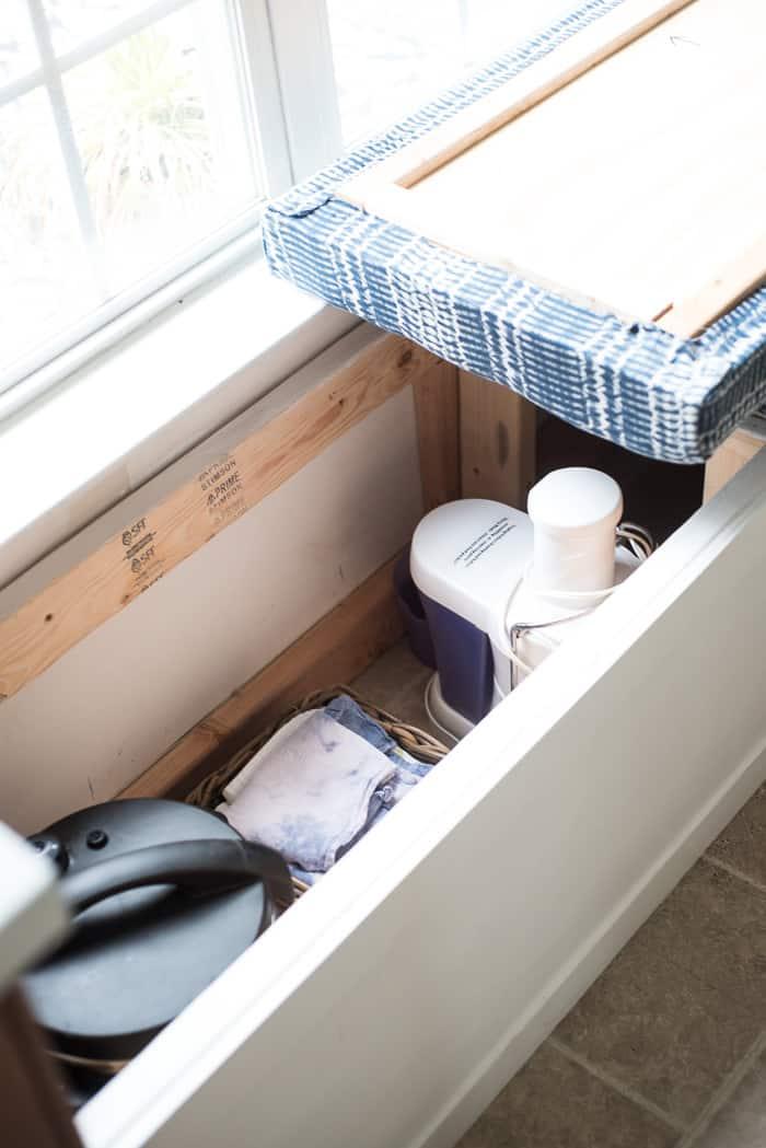 Diy Built In Storage Bench Tutorial One Room Challenge Week 3 Place Of My Taste