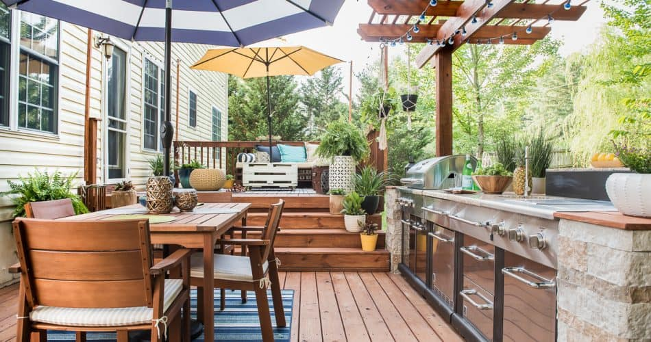 OUTDOOR KITCHEN – HOW WE DID IT
