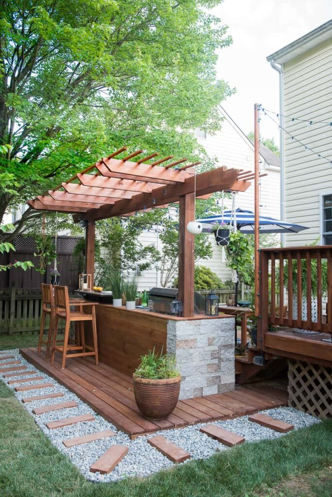 Charmant DIY Outdoor Kitchen You Want To See!