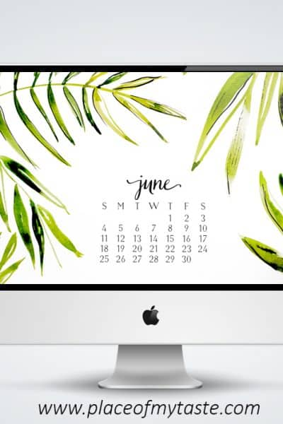 FREE DESKTOP WALLPAPER – JUNE