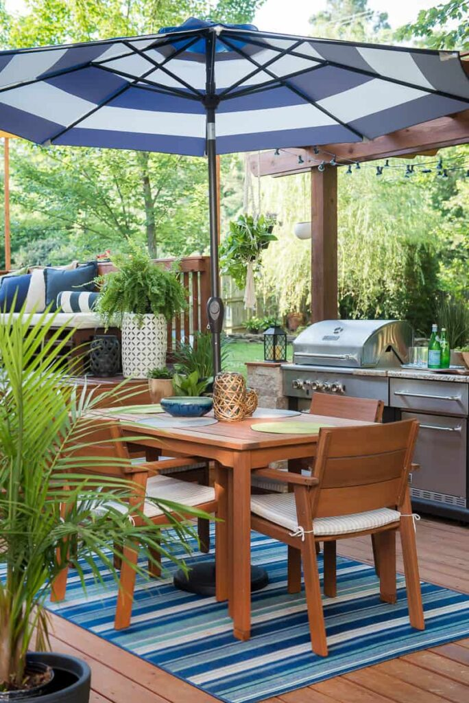 DIY Outdoor Kitchen you want to see!