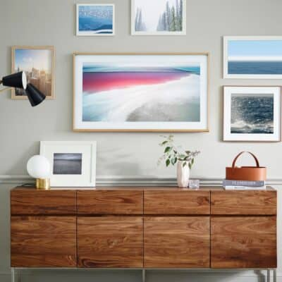 SAMSUNG THE FRAME   The artsy TV for your home