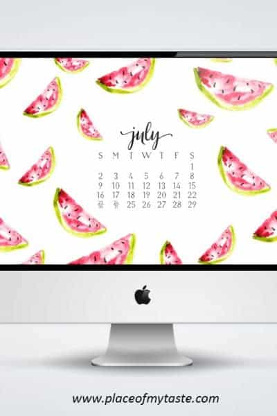 FREE DESKTOP WALLPAPER -JULY