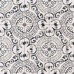 Kitchen Tile Busy Pattern Place Of My Taste
