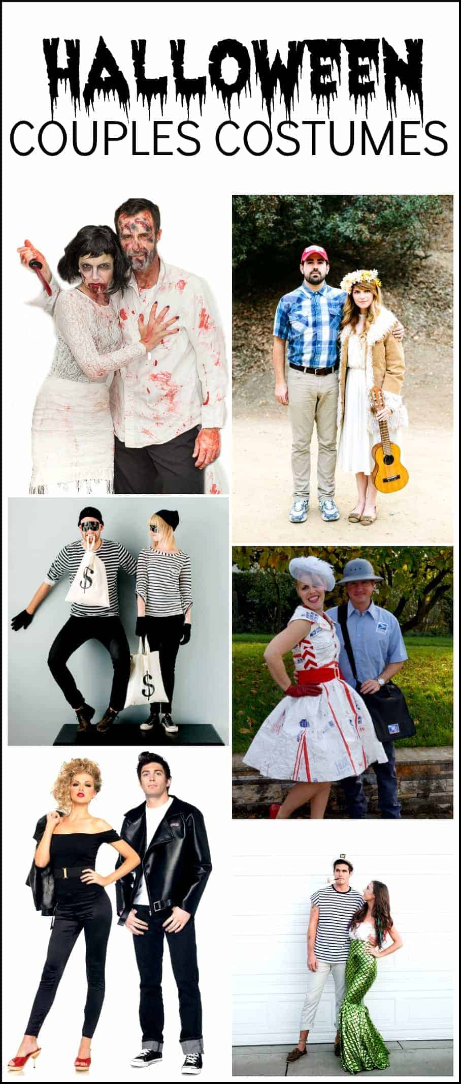 Last Minute Halloween Costumes For Couples