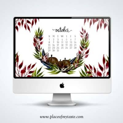 FREE DESKTOP WALLPAPER – OCTOBER