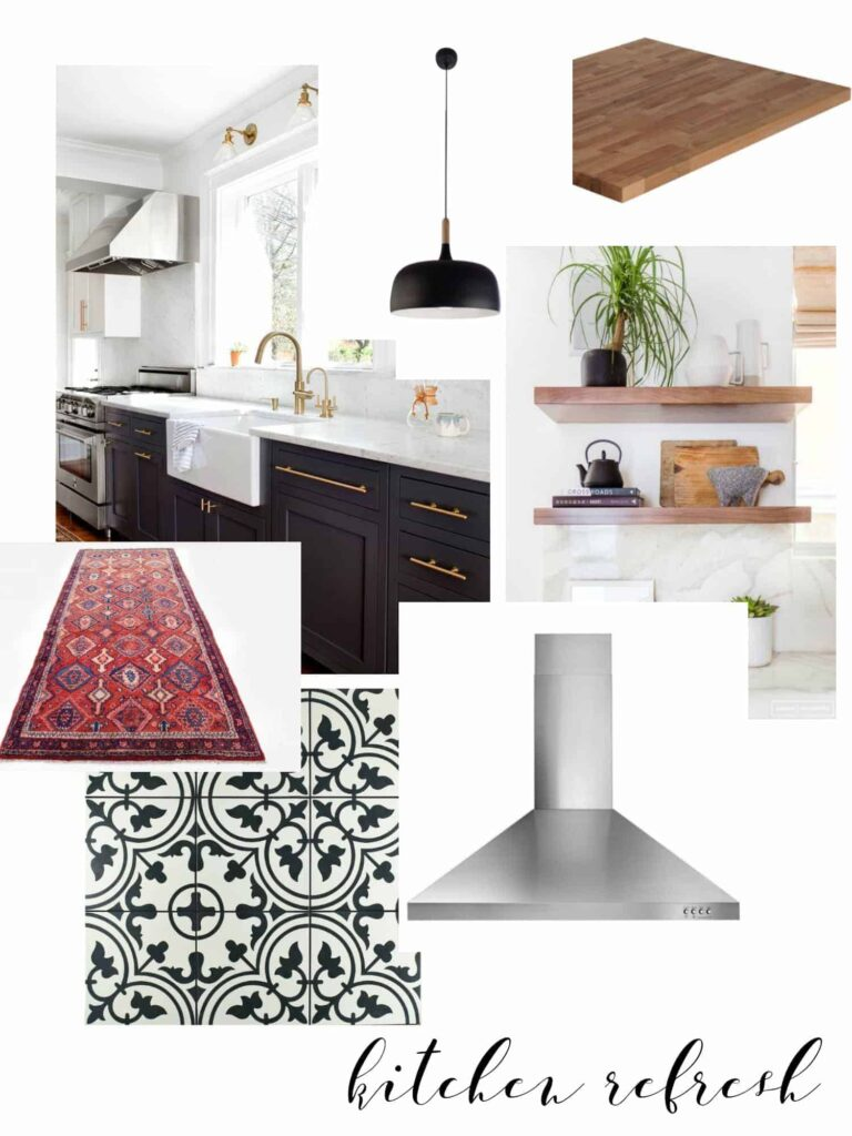KITCHEN REFRESH - THE INSPIRATION - PLACE OF MY TASTE