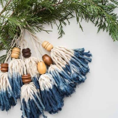 BOHO TASSEL ORNAMENTS