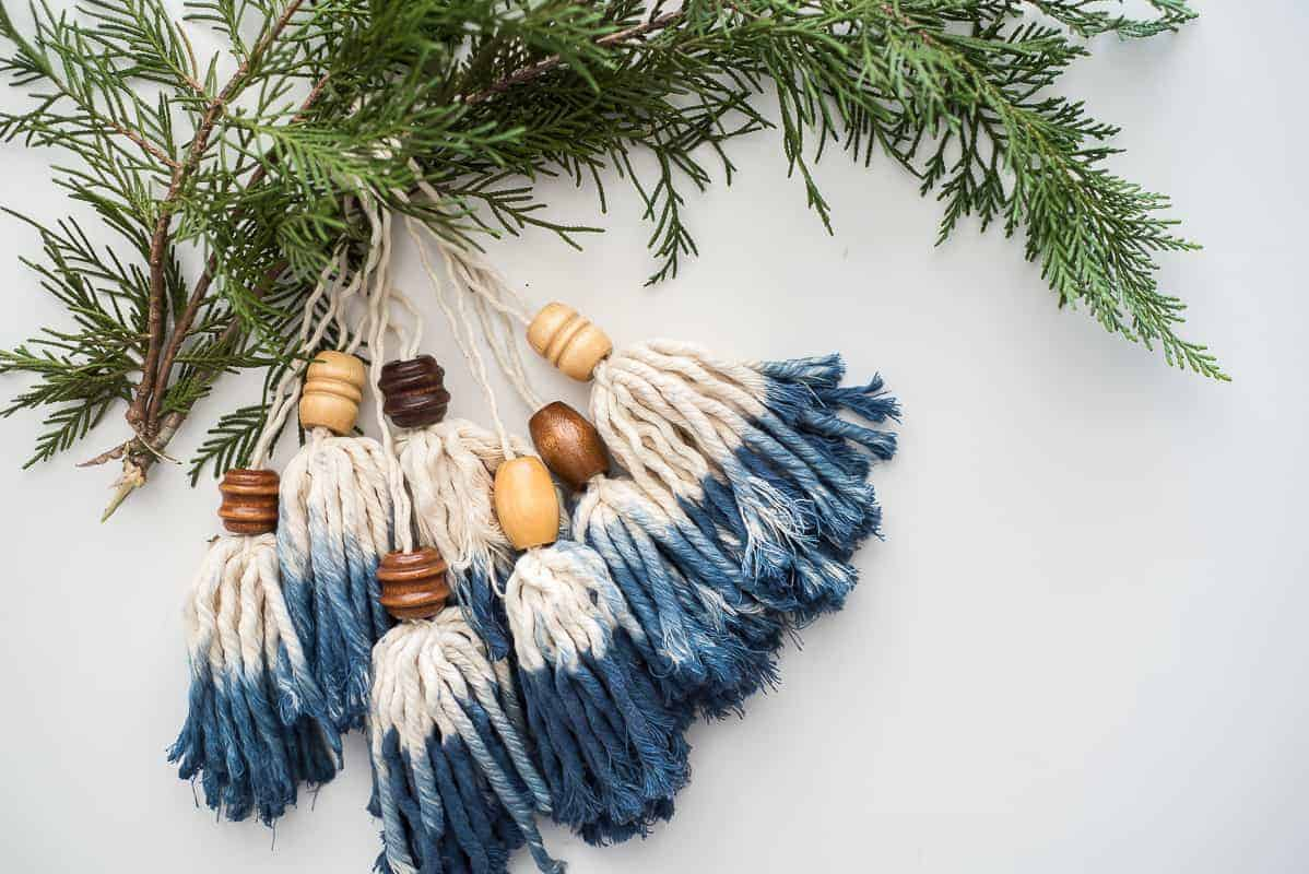 DIY BOHO Tassel ornaments