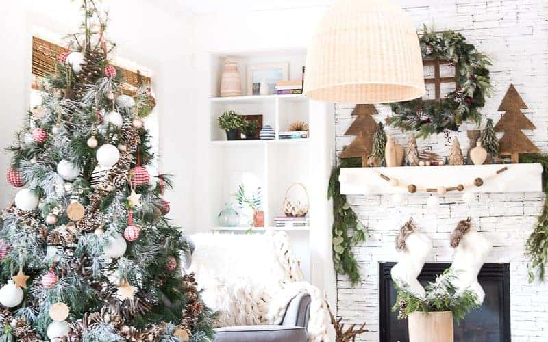SEASONAL SIMPLICITY CHRISTMAS HOME TOUR