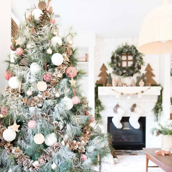 CHRISTMAS TREE IN A BASKET – THE HOW TO