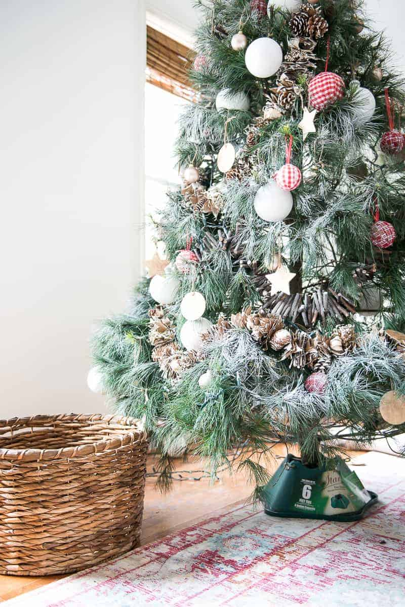 do you love the christmas tree in a basket idea i show you how to