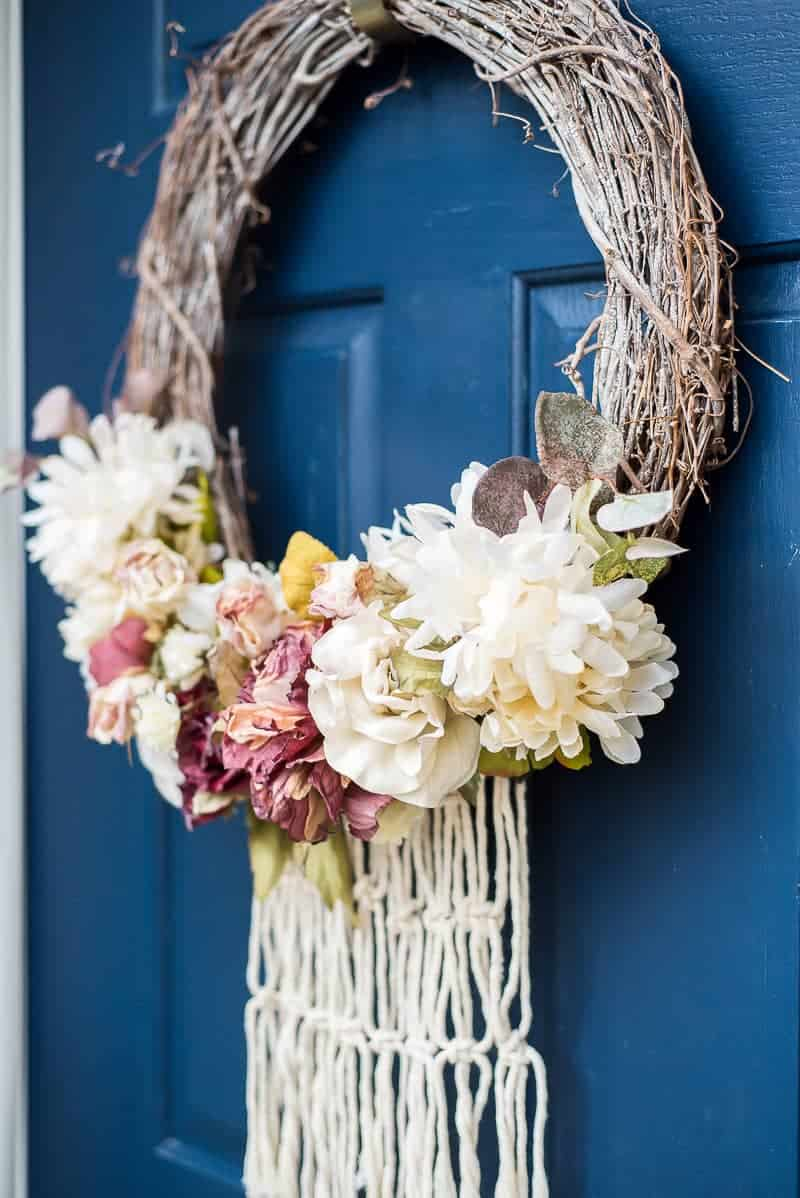 grapevine spring wreath