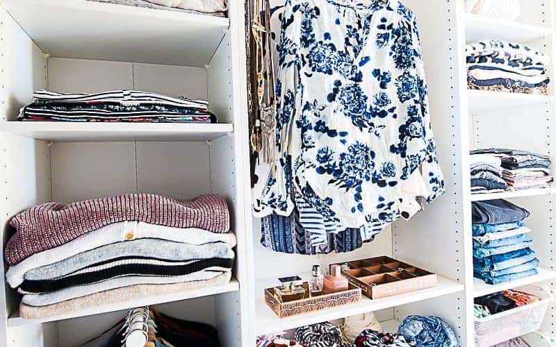 WALK-IN CLOSET MAKEOVER WITH IKEA PAX WARDROBE