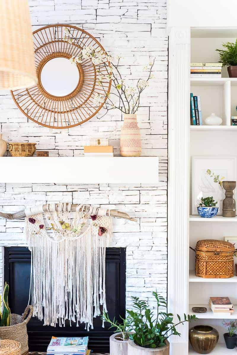 Boho Mantel Decor