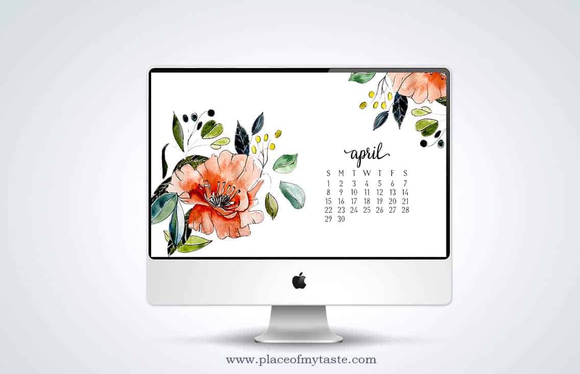 FREE DESKTOP WALLPAPER- APRIL! GO GRAB IT!