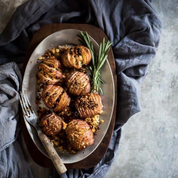 Parmesan Hassleback Potatoes