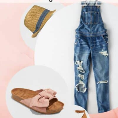 FASHION FAVORITES: JEANS OVERALLS AND SANDALS