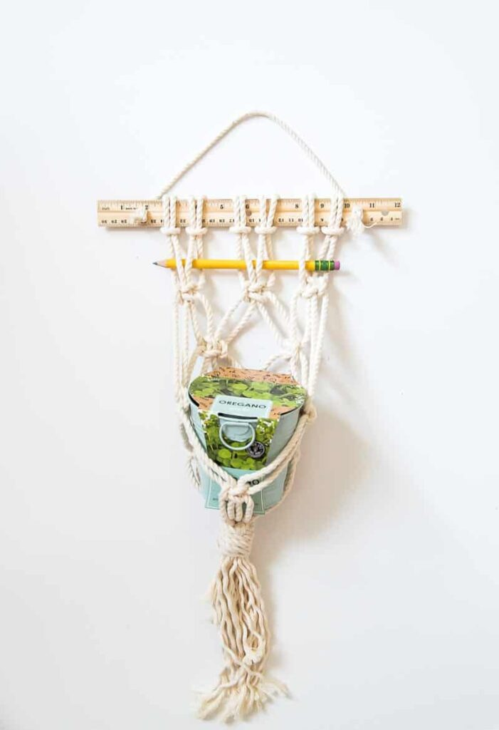 macrame teacher gift