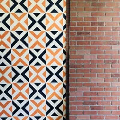 HOW TO INSTALL FAUX BRICK PANELING