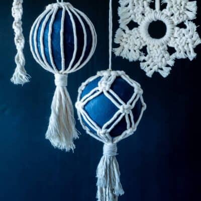 MACRAME ORNAMENTS