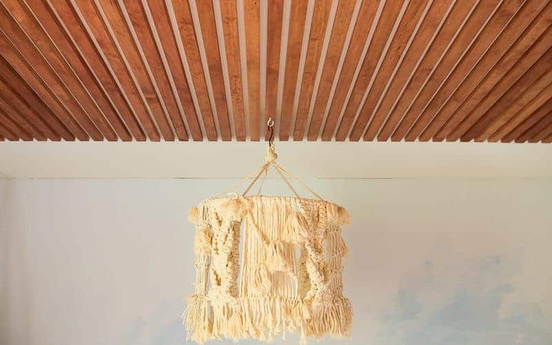 DIY MODERN WOOD CEILING