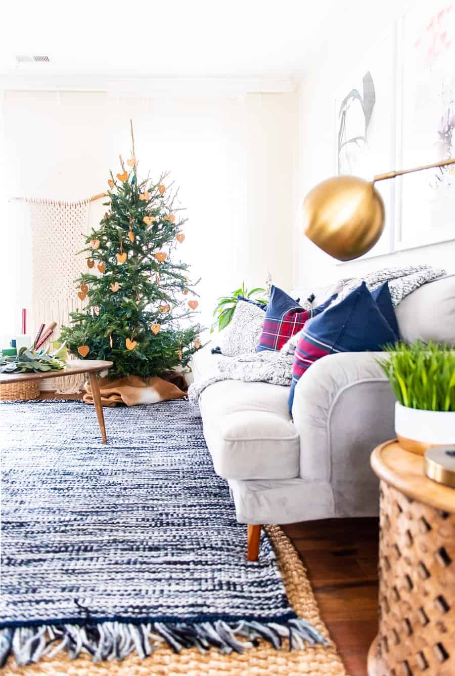 COZY LIVING ROOM FOR THE HOLIDAYS WITH IKEA - PLACE OF MY TASTE